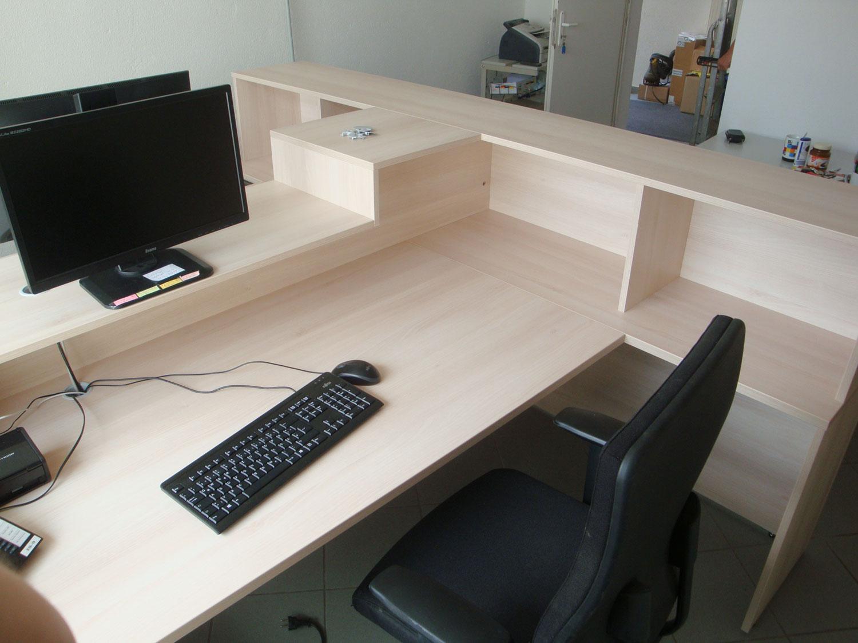Schreibtisch mit tresen for Buromobel osnabruck